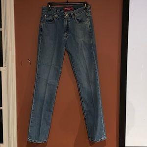 Levi's 505 Nouveau Straight Low rise jeans sz 6